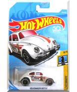 Hot Wheels - Volkswagen Beetle: Checkmate #8/9 - #364/365 (2018) *White ... - $3.00