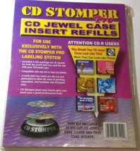 CD Stomper Pro CD Jewel Case Inserts Refills [Brand New] - $23.73