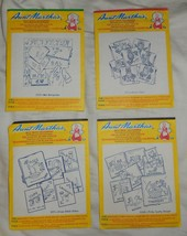 Vintage Aunt Martha's Hot Iron Transfers Set of 4 - $13.00