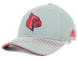 LOUISVILLE CARDINALS - ADIDAS ADI MM NCAA TEAM LOGO CAP/HAT - OSFM - $18.04