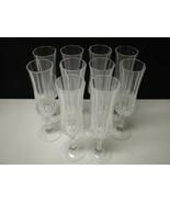 10 Cristal d'Arques Longchamp Tall Champagne Flutes~~~~have more - $39.95