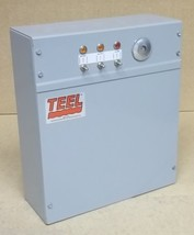 Teel Electrical Item Gray Box with 3 Switches 17in x 14in x 6in - $74.70