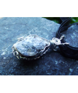Granite Stone Pendant, Grounding And Cleansing Root and Sacral Chakra Pe... - $30.00