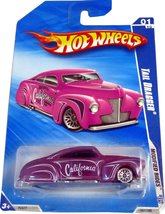 Hot Wheels 2009 Tail Dragger Modified Rides Purple CALIFORNIA [Brand New] - $9.07
