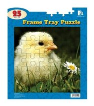 """25 Piece Baby Chick Frame Tray Puzzle [Brand New] 12""""x14"""" - $6.00"""