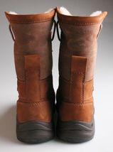 UGG Womens Chestnut Brown Leather Adirondack III Winter Snow Boots 1017430 NIB image 2