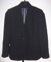 Tahari Arthur S Levine Black Pin Stripe Jacket Misses Size 10 - $28.71