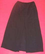 Banana Republic Black Long Silk Straight Pencil Skirt Fully Lined Misses... - $24.75