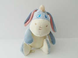 Disney's Winnie the Pooh Eeyore Baby Infant Plush Rattle - $11.29
