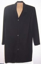 NWT Clio Black Shirt Dress Misses Size Small - £19.09 GBP