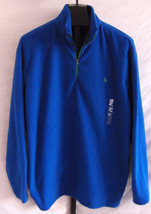 NWT Polo Ralph Lauren Performance Blue Microfleece Sweatshirt Mens Size ... - $59.84