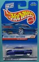 "Hot Wheels 1998 1:64 Scale Purple ""Tail Dragger"" Die Cast Car [Brand New] - $12.87"