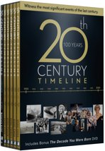 20th Century Timeline - 6 DVD Collection [DVD] Brand New - $15.95
