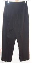 Linda Allard Ellen Tracy black Wool Pants Misses Size 4 - $43.56
