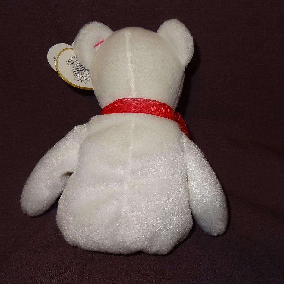 Casanova Bear Ty Beanie Baby Valentine Plush Stuffed Animal Toy 2006 with Tag