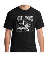 The Who Drummer Keith Moon on Drums Shirt T-shirt Unisex Shirt Mens Tshirt - $19.95