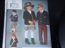Vogue 8920 for Me Pattern Children Unisex Jacket, Skirt and Pants Size 5-6-6X Un - $10.00