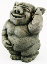 Happy Ogre Concrete Statue  - $54.00