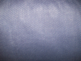 """White with Black Polk Dots Fabric  100% Cotton 44"""" Wide By The Half Yard 1/2 - $3.99"""