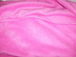"Blizzard Fleece Fabric Medium Pink Color 59"" Wide - $8.99"