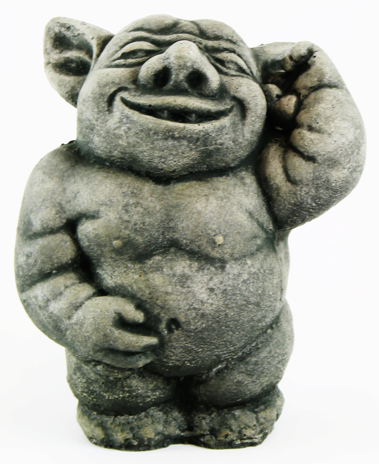 Happy Ogre Concrete Statue
