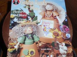 Vintage 1995  Garden Angels & Mice Paint Pot Suzanne McNeill Design Orig... - $6.95