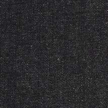 """Black Heavy Weight Bull Denim Upholstery Home Decor  Fabric 100% Cotton 60"""" Wide - $13.99"""