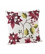 Florentine Spice Poinsettia Down Filled Decorat... - $37.99