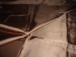 "Medium Brown Lining Fabric Polyester Apparel & Fashion Fabric  45"" Wide 1 Yard - $4.99"