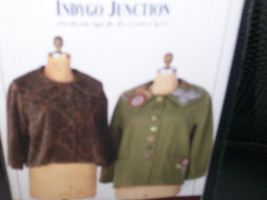 Indygo Junction 796 Trapeze Topper  Unlined Tra... - $9.99