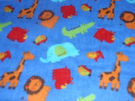 "Rockaby Tarzan Blue Flannel 44"" Wide 100% Cotton Sold by the Yard - $8.99"