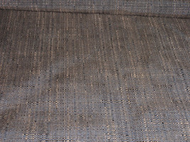 Linen Chintz Brown Home Decor Fabric 56 Wide  66 Rayon 34 Polyester  BTY - $14.99