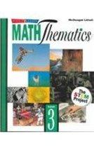 MathThematics: Book 3 [Jul 28, 2004] MCDOUGAL LITTEL - $2.44
