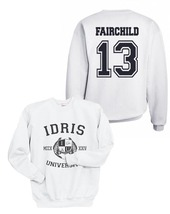 FAIRCHILD 13 IDRIS UNIVERSITY MORTAL INSTRUMEN Unisex Crewneck Sweatshir... - $34.00+
