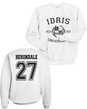 HERONDALE 27 IDRIS UNIVERSITY MORTAL INSTRUMEN Unisex Crewneck Sweatshir... - $34.00+