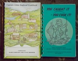 You Caught It You Cook It! and Captain Johns Seafood Cookbook - $6.00