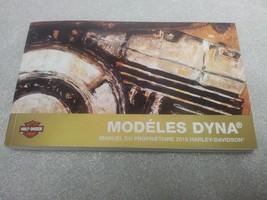 2016 Harley Davidson Dyna Models FRENCH Owner's Manual 99467-16FR - $30.67