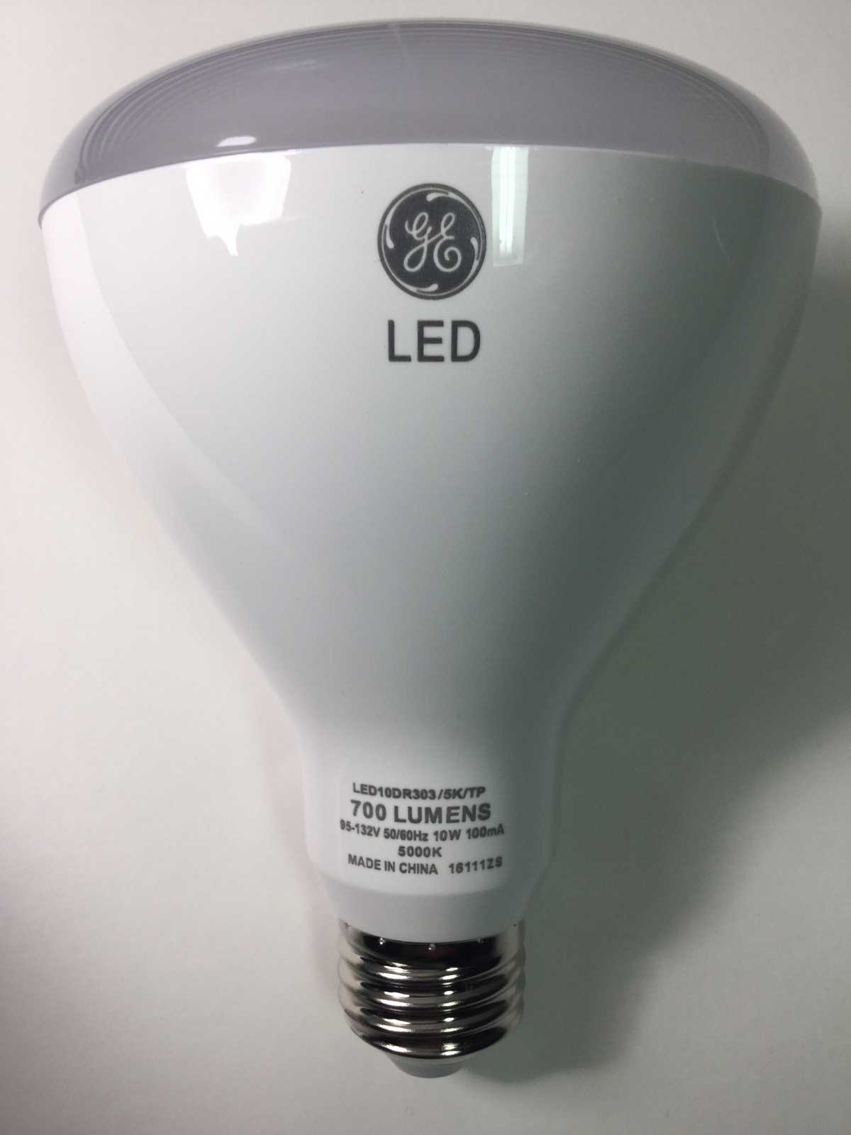 Led Daylight Bulb: 4 Bulbs GE LED Daylight 65W Equivalent Dimmable BR30 Flood