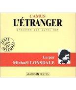 L'etranger- by Albert Camus (1998-01-01) [Audio CD] Albert Camus - $25.00