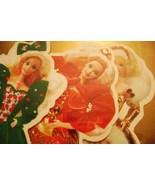 Hallmark Barbie Doll Shaped Greeting Cards - $12.00