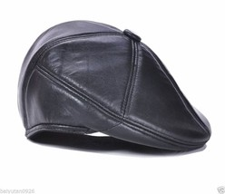 New High Quality Men's / Women's Leather baseball cap /Golf Hat - $18.99
