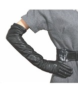 60cm (23.60 Inch) 100% Genuine Leather Evening Opera Long Gloves Party G... - $38.85+