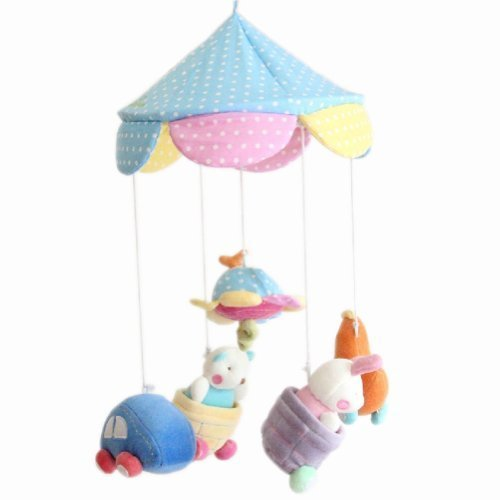 Little Worm Newborn Infant Crib Decor Mobile Baby Take Along Musical Bed Bell