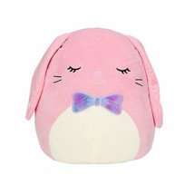 """Squishmallow Kellytoy 2021 Springtime 16"""" Bop the Pink Easter Bunny Plush Doll S - $44.19"""