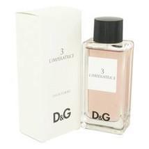 L'imperatrice 3 Perfume By Dolce & Gabbana 3.3 oz Eau De Toilette Spray For Wome - $52.78