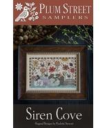 Siren Cove cross stitch chart Plum Street Sampl... - $10.80