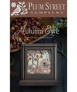 Autumn Ewe cross stitch chart Plum Street Sampl... - $9.00