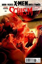 X-Men Schism #1 Second Print Variant [Comic] [Jan 01, 2011] Jason Aaron - $14.69