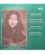 Paulina Drake- Piano: Plays Muczynski, Kabalevsky [Vinyl] - $14.70