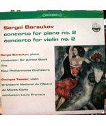 Sergei Barsukov -Concerto for Piano No 2 & Concerto for Violin No 2 [Vinyl] - $22.79